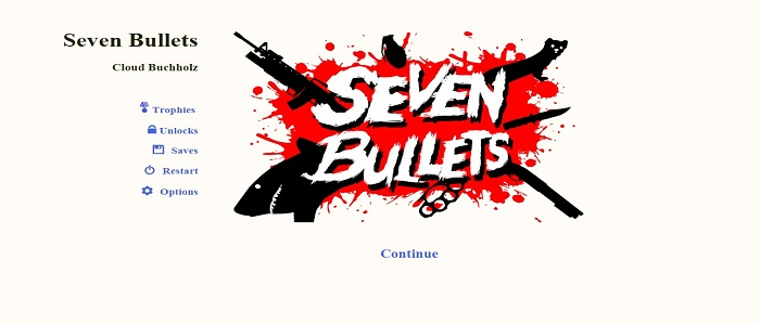 Seven Bullets for one's valentine